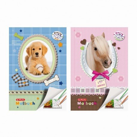 CARTE DE COLORAT A4 28F PRETTY PETS