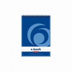 BLOC NOTES A6 50F SPIRALA DICTANDO X.BOOK