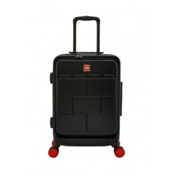 Troller 28 inch, material 70%PC/30%ABS, LEGO FastTrack - negru