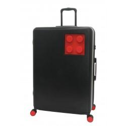 Troller 28 inch, material 80%PC/20%ABS, LEGO Urban - negru cu rosu