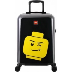 Troller 28 inch, material ABS, LEGO Minifigure Head - negru