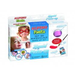Make-up lichid, 8 culori x 10 gr, ALPINO Fiesta