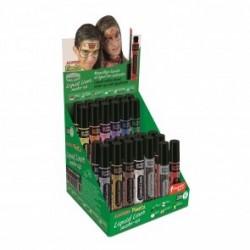 Display machiaj, 6gr., 24 buc/display+2 buc tester, ALPINO Make-Up Liquid Liner - 12 culori