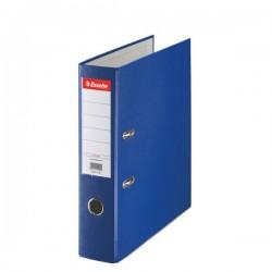 Biblioraft A4, plastifiat PP, margine metalica, 75 mm, ESSELTE Economy - albastru