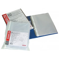 Folie protectie pentru documente, 35 microni, 100buc/set, ESSELTE Economy - transparent