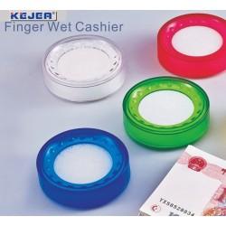 Buretiera D5cm, KEJEA - plastic transparent rosu
