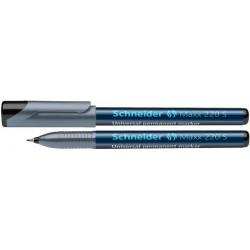 Universal permanent marker SCHNEIDER Maxx 220 S, varf 0.4mm - negru