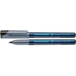 Universal permanent marker SCHNEIDER Maxx 224 M, varf 1mm - negru