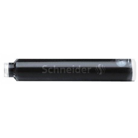 Patroane cerneala SCHNEIDER, 6buc/set - negru