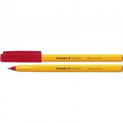 Pix SCHNEIDER Tops 505F, unica folosinta, varf fin, corp orange - scriere rosie