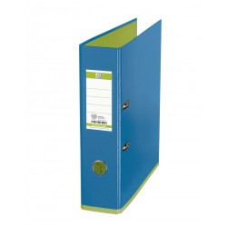 Biblioraft A4, plastifiat PP/PP, 80 mm, OXFORD MyColour - bleu/verde deschis