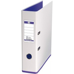 Biblioraft A4, plastifiat PP/PP, 80 mm, OXFORD MyColour - alb/alb/violet