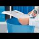 Foarfece pentru birou LEITZ Wow Titanium, 205 mm - albastru metalizat