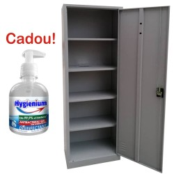 FISET METALIC CU 4 RAFTURI A60, 600x400x1800 mm, 40 kg/polita, neasamblat, PLUS+CADOU!!! (1 Gel dezinfectant Hygienium 300 ml)
