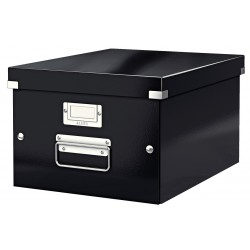 Cutie arhivare 281 x 200 x 369 mm, LEITZ Click & Store, carton laminat - negru