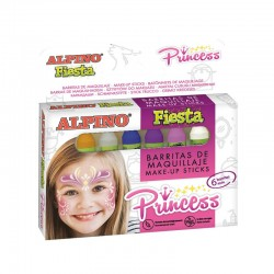 Creioane machiaj, 6 culori/cutie, ALPINO Princess