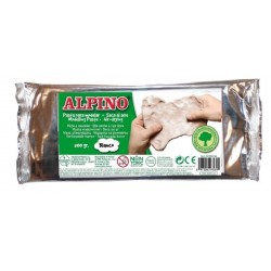 Pasta de modelat, 500 grame, ALPINO - alba