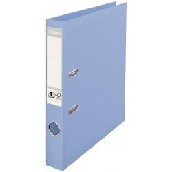 Biblioraft A4, plastifiat PP/PP, margine metalica, 50 mm, ESSELTE No. 1 Power - bleu