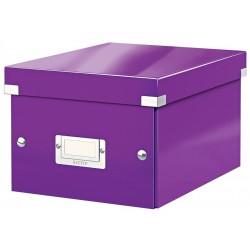 Cutie arhivare 216 x 160 x 282 mm, LEITZ Click & Store, carton laminat - mov