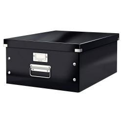 Cutie arhivare 369 x 200 x 484 mm, LEITZ Click & Store, carton laminat - negru