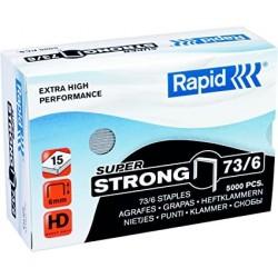 Capse Rapid Super Strong, 73/6, 2-15 coli, 5000 buc/cutie