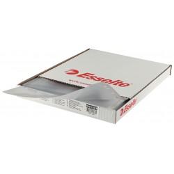 Folie protectie pentru documente, 75 microni, 100folii/set, ESSELTE - cristal