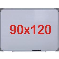 Tabla alba magnetica, 90x120 cm Premium (7 ani Garantie)