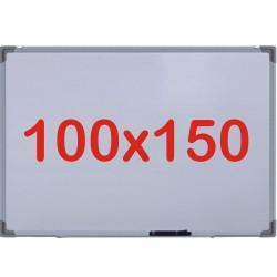 Tabla alba magnetica, 100x150 cm Premium (7 ani Garantie)