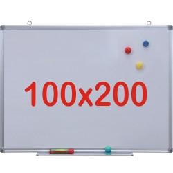 Tabla alba magnetica, 100x200 cm Premium