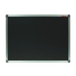 TABLA CRETA NEAGRA MAGNETICA 100x200 cm MEMOBOARDS, rama aluminiu