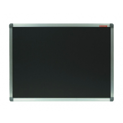 TABLA CRETA NEAGRA MAGNETICA 120x200 cm MEMOBOARDS, rama aluminiu