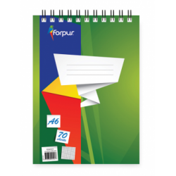 BLOC NOTES A6 SPIRA 70 FILE MATE FORPUS 42311