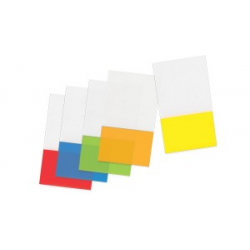 POST-IT INDEX PLASTIC 44*25MM FORPUS GALBEN FO42045