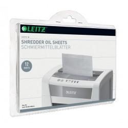 Coli impregnate cu ulei pentru distrugatoare documente Leitz, 12 buc/set
