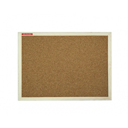 PANOU PLUTA 60x90 CM MEMOBOARDS, rama lemn