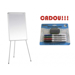 FLIPCHART MAGNETIC SMART 70x100 cm + CADOU!!! (SET 4 MARKER WHITEBOARD + BURETE)