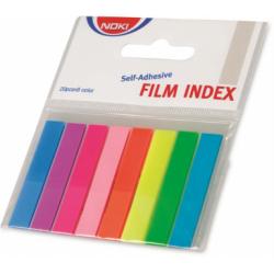 Index Adeziv Plastic 12 x 45 mm 8 culori 20 File/Culoare Noki