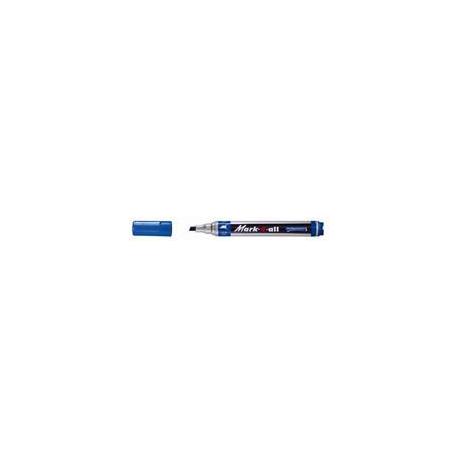 Marker permanent Stabilo Mark-4-all, varf retezat, 1 - 4 mm, rosu