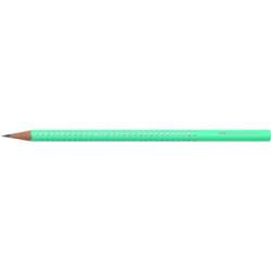 Creion Grafit B Sparkle Pastel Turcoaz Faber-Castell
