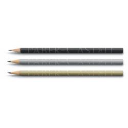 Creion Grafit Design 250 Ani Argintiu Faber-Castell