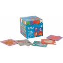 Puzzle educativ Apli, cu tema asocieri, 24 de piese
