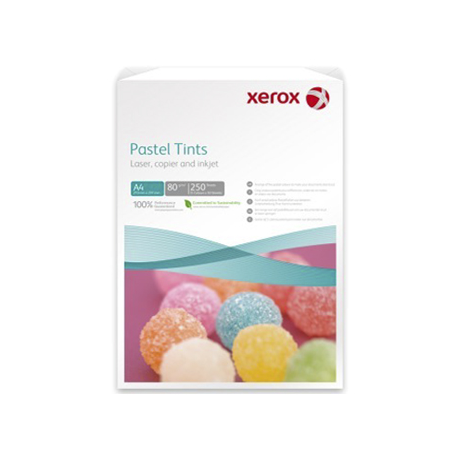 HARTIE COLOR XEROX SYMPHONY MIX A4, 80 g/mp, culori pastel