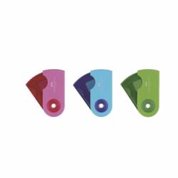Ascutitoare Plastic Simpla Sleeve-Mini Pastel Faber-Castell