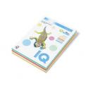 HARTIE COLOR IQ MIX RAINBOW 5x20 coli A4, 160 g/mp, culori pastel