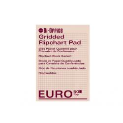 REZERVA HARTIE PT. FLIPCHART CAROIATA 50 coli, BI-OFFICE