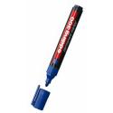 Markere permanent Edding 300, varf rotund, 1.5 - 3 mm, albastru