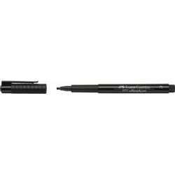 Pitt Artist Pen Caligrafic Negru Faber-Castell