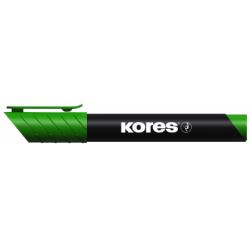 Marker Permanent Verde Varf Rotund 3Mm Kores