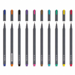 Liner 0.4mm Negru Adel