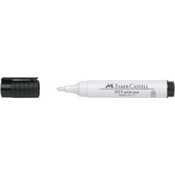 Pitt Artist Pen Big Brush Alb Faber-Castell